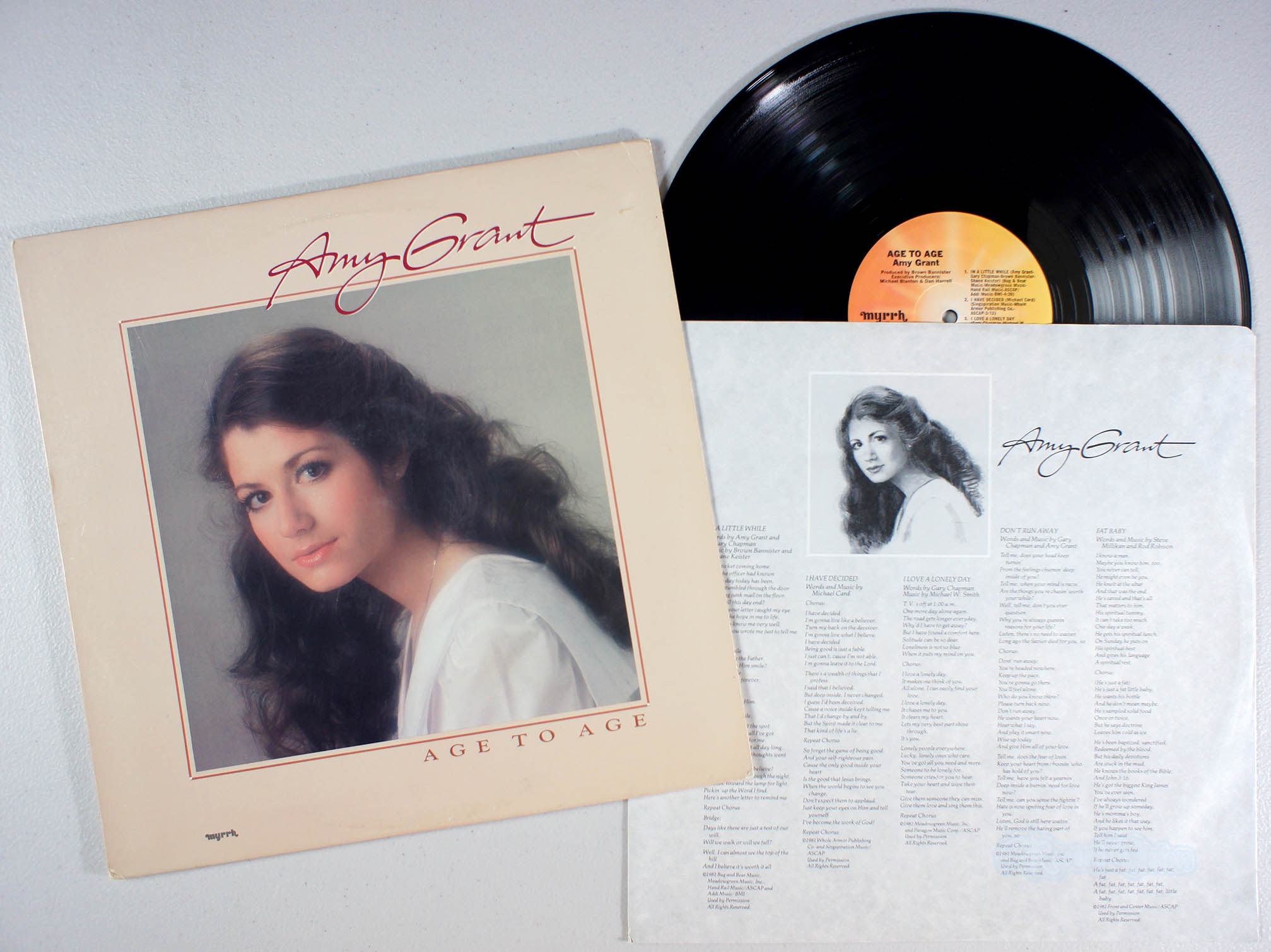 AMY GRANT - Age to Age - 33T