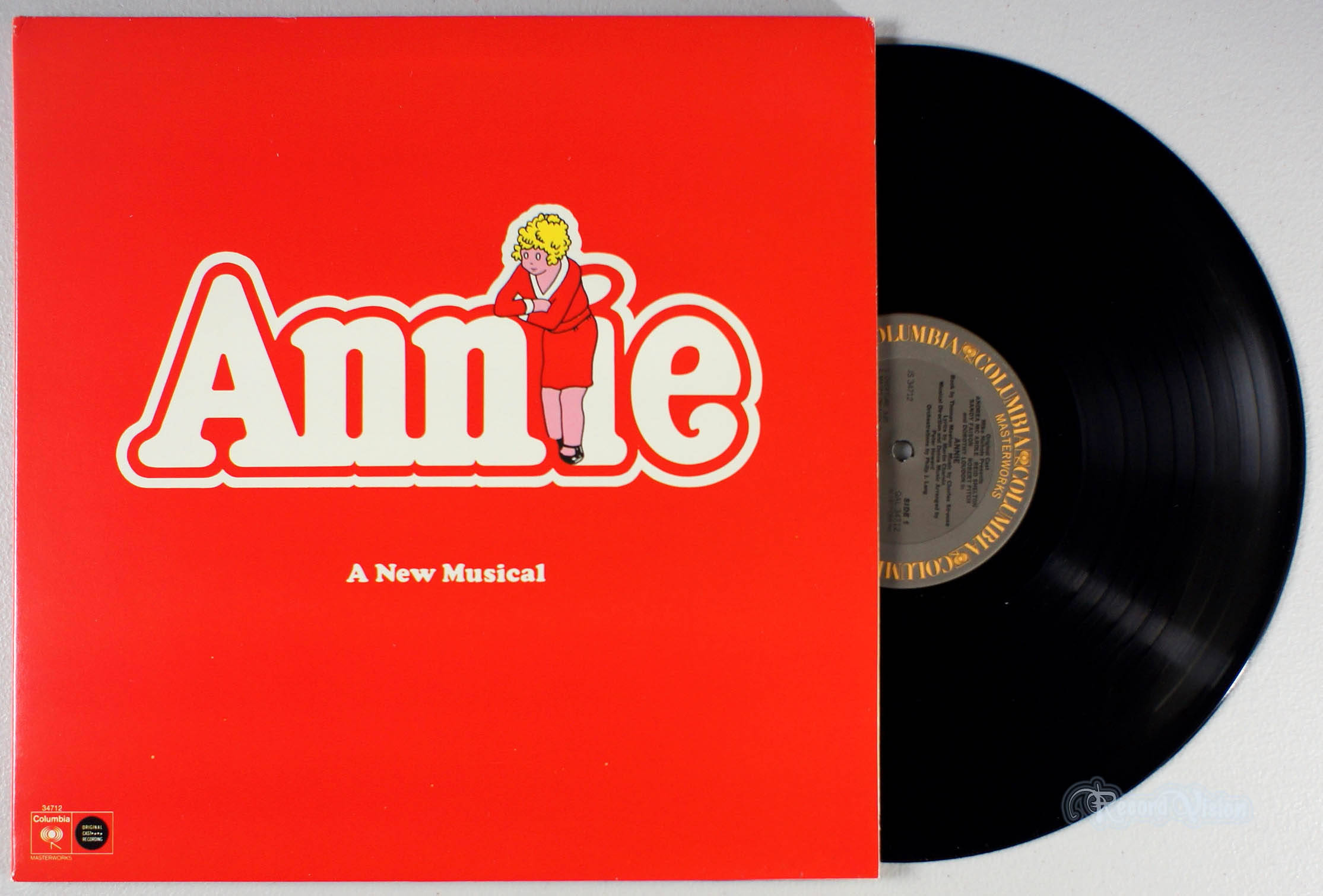 ASSORTED (SOUNDTRACK) - Annie (Broadway) - 33T