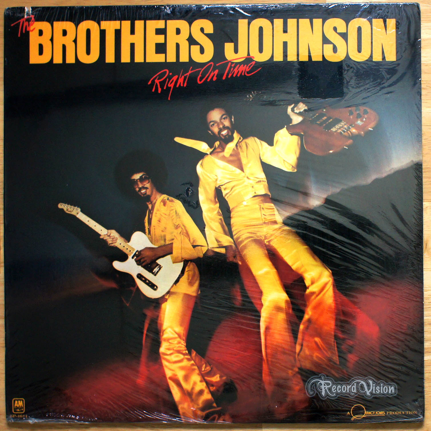 BROTHERS JOHNSON - Right on Time - 33T