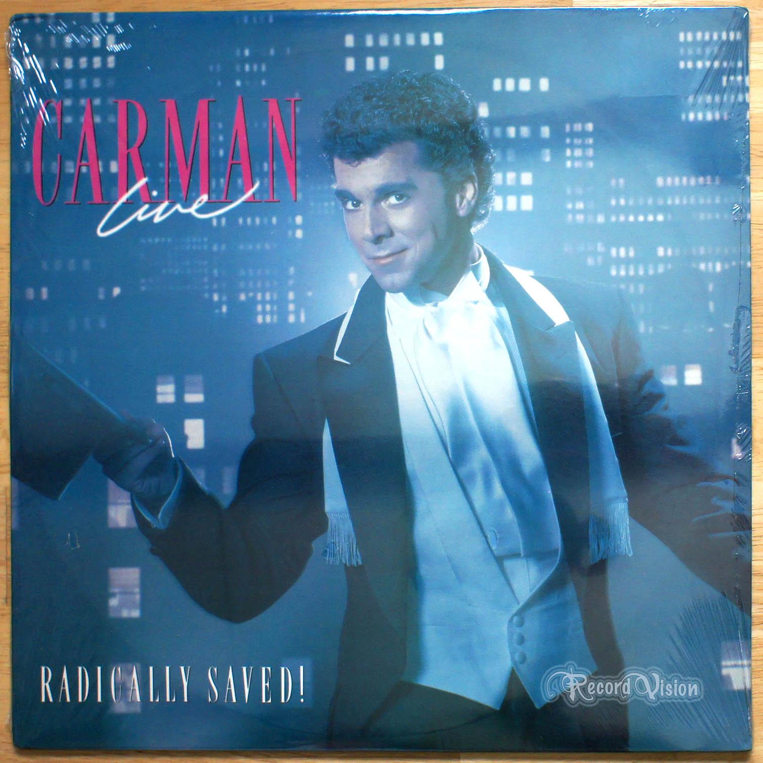 CARMAN - Live: Radically Saved - LP