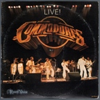 Commodores - Live LP