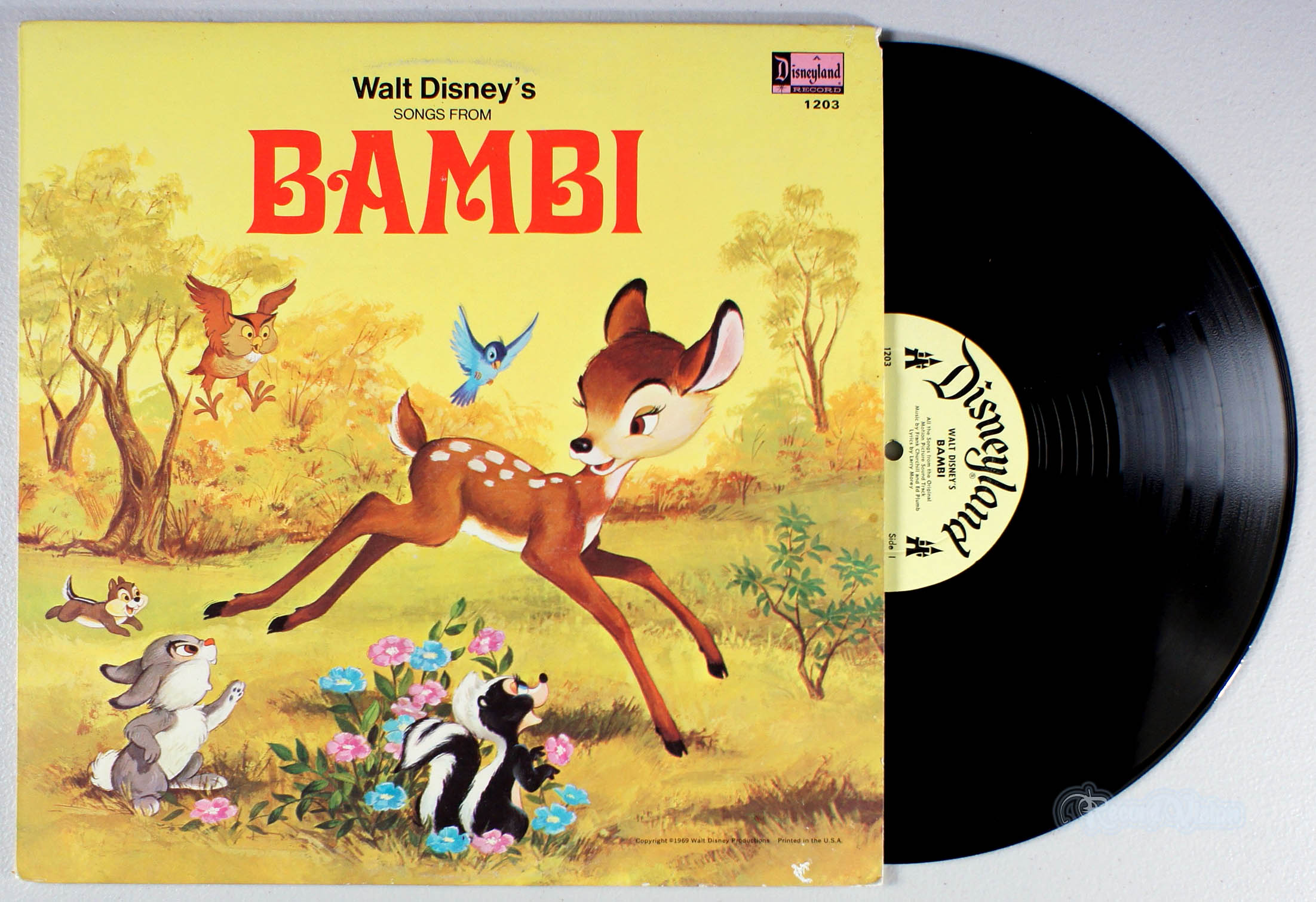 DISNEY - Songs From Bambi - LP