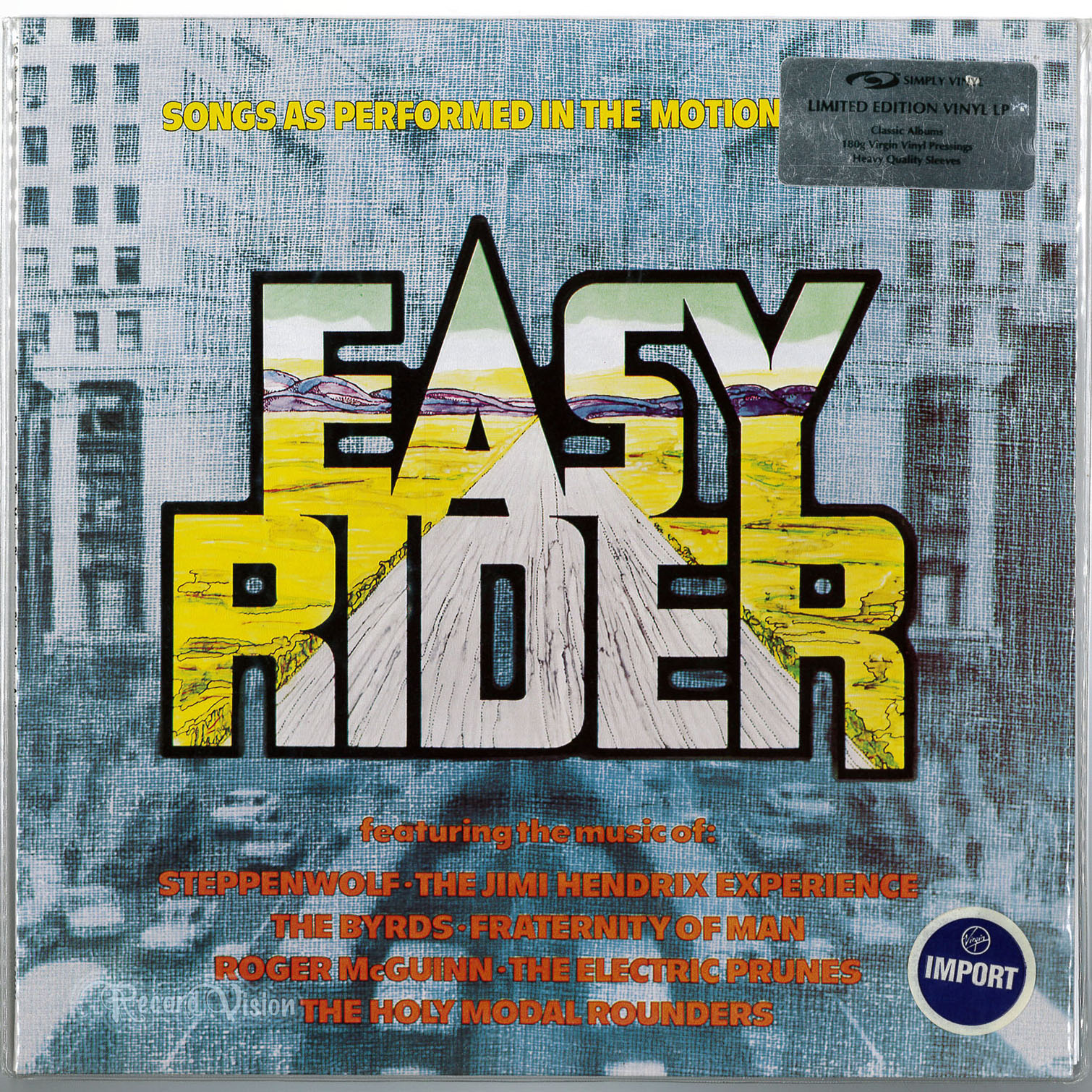 ASSORTED (JIMI HENDRIX) - Easy Rider - 33T