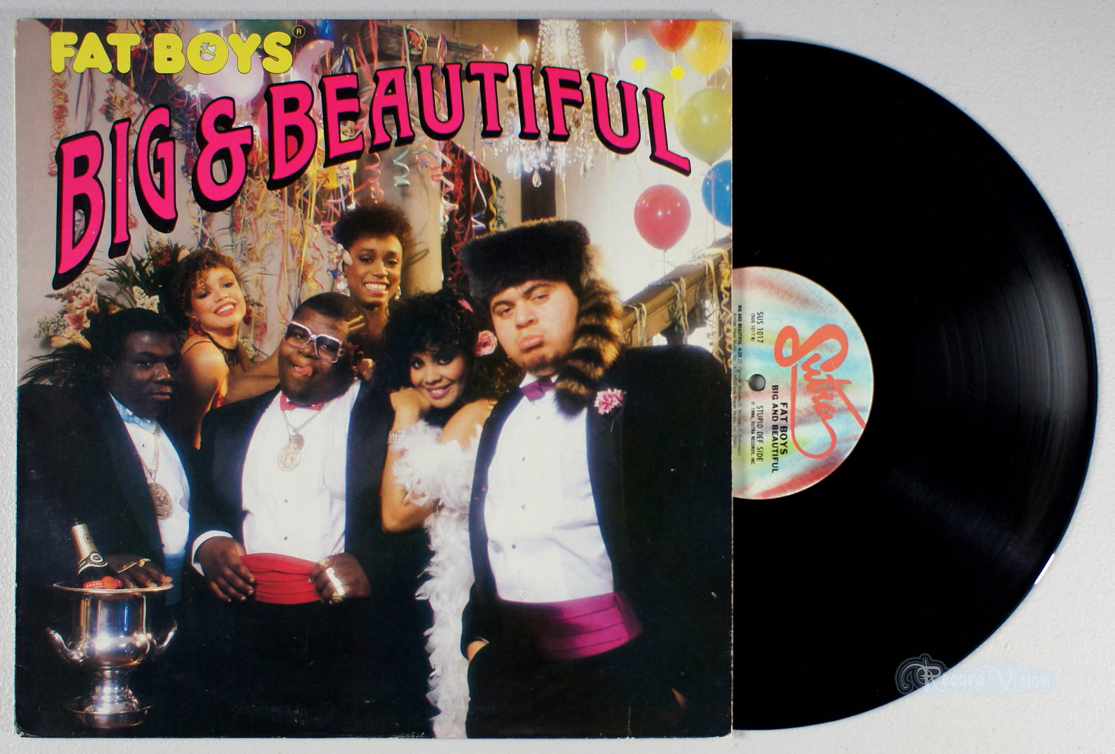 FAT BOYS - Big and Beautiful - LP
