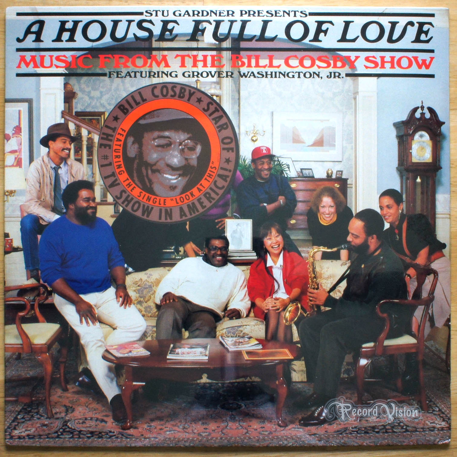 GROVER WASHINGTON, JR. - A House Full of Love - 33T