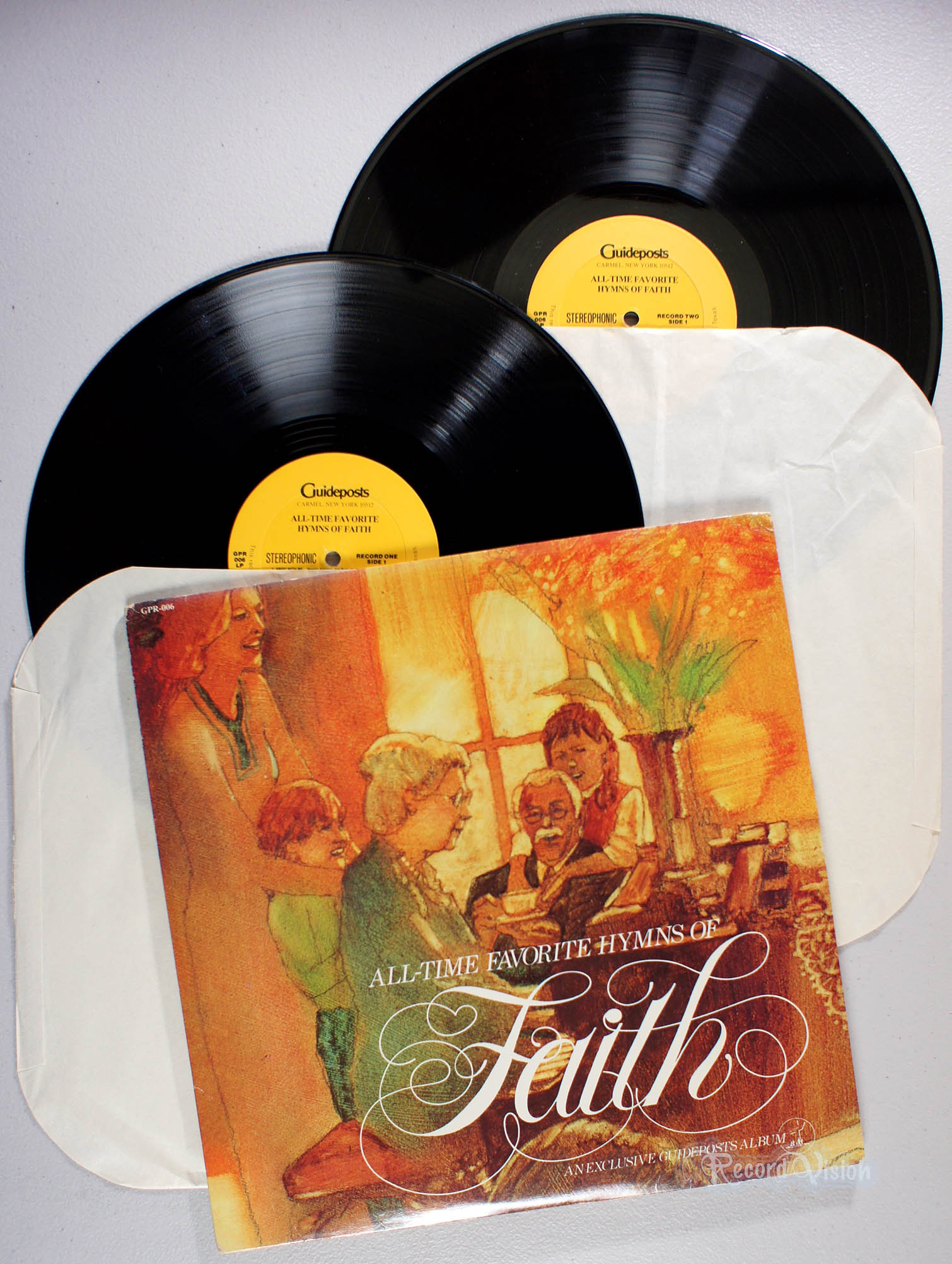 GUIDEPOSTS - All-Time Favorite Hymns of Faith - LP 2枚