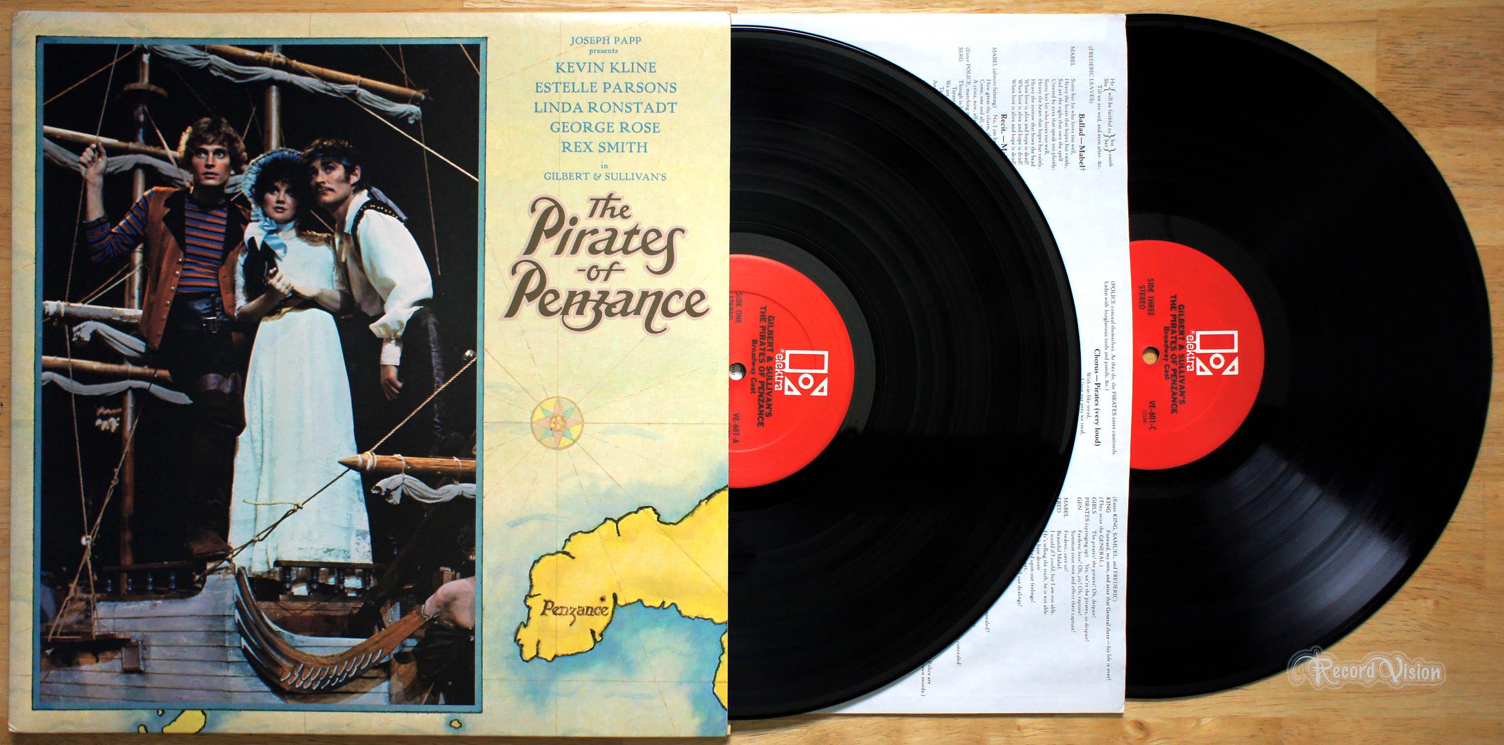 LINDA RONSTADT - The Pirates of Penzance - 33T x 2