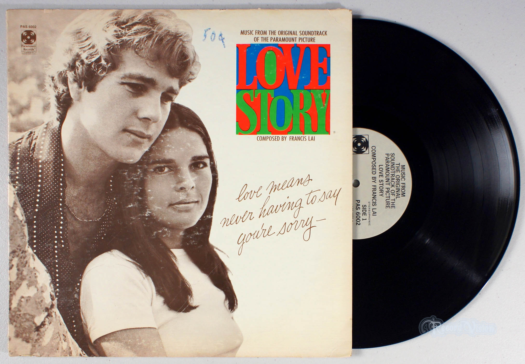 ASSORTED (SOUNDTRACK) - Love Story - LP