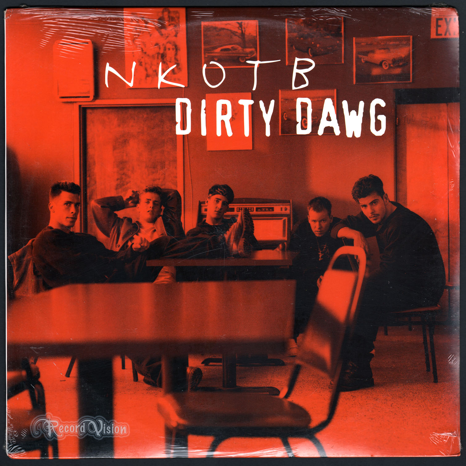 NEW KIDS ON THE BLOCK - Dirty Dawg - 12 inch x 1