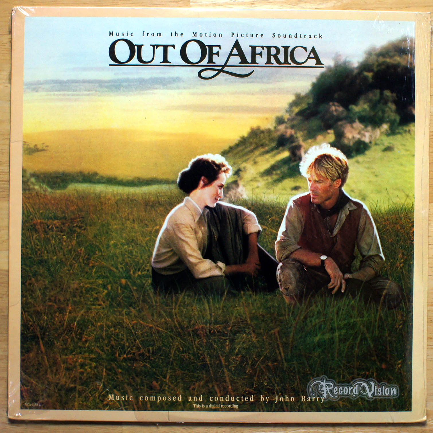 ASSORTED (SOUNDTRACK) - Out of Africa - 33T