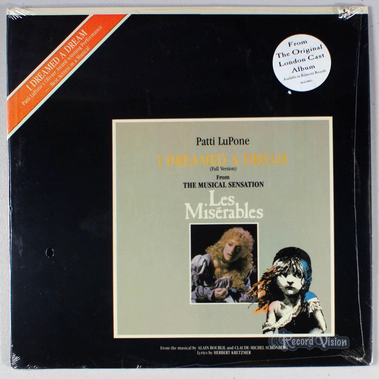 PATTI LUPONE - I Dreamed a Dream - Maxi x 1