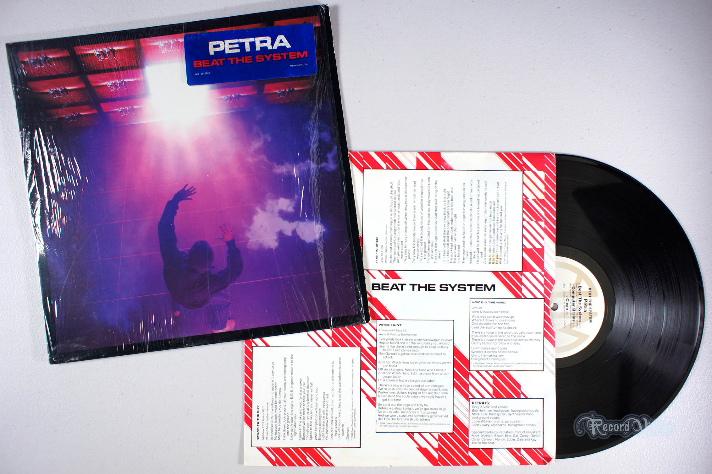 PETRA - Beat the System - 33T