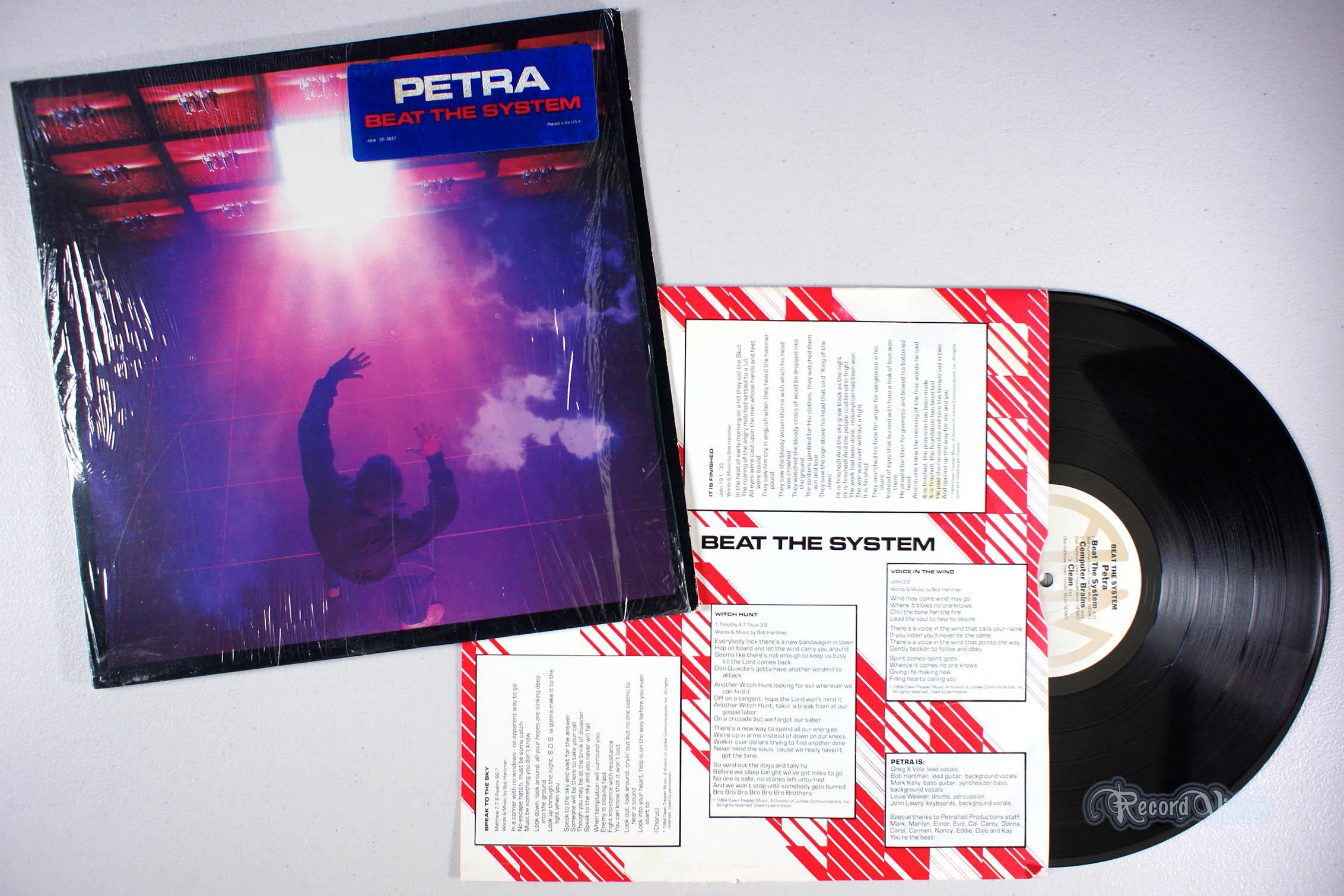 PETRA - Beat the System - LP