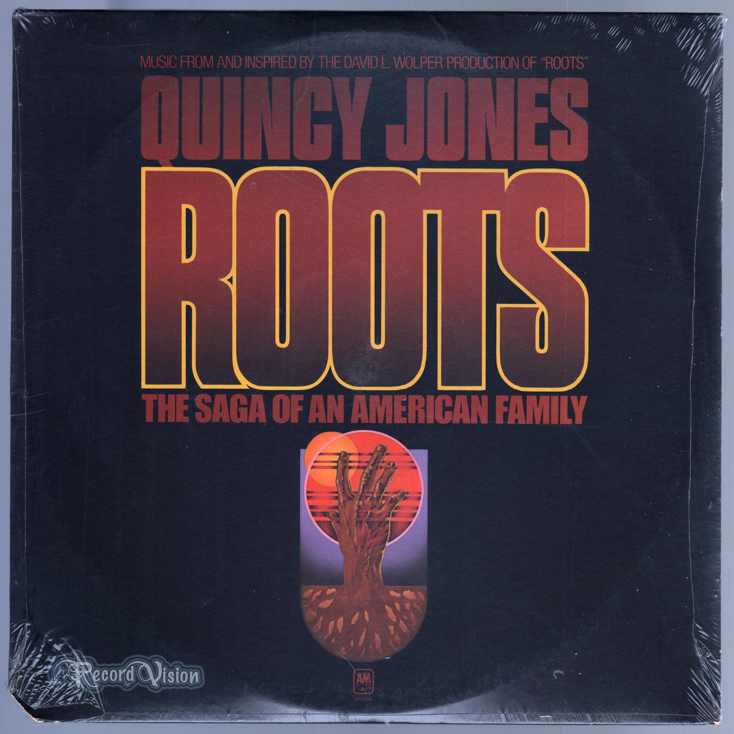 QUINCY JONES - Roots - 33T