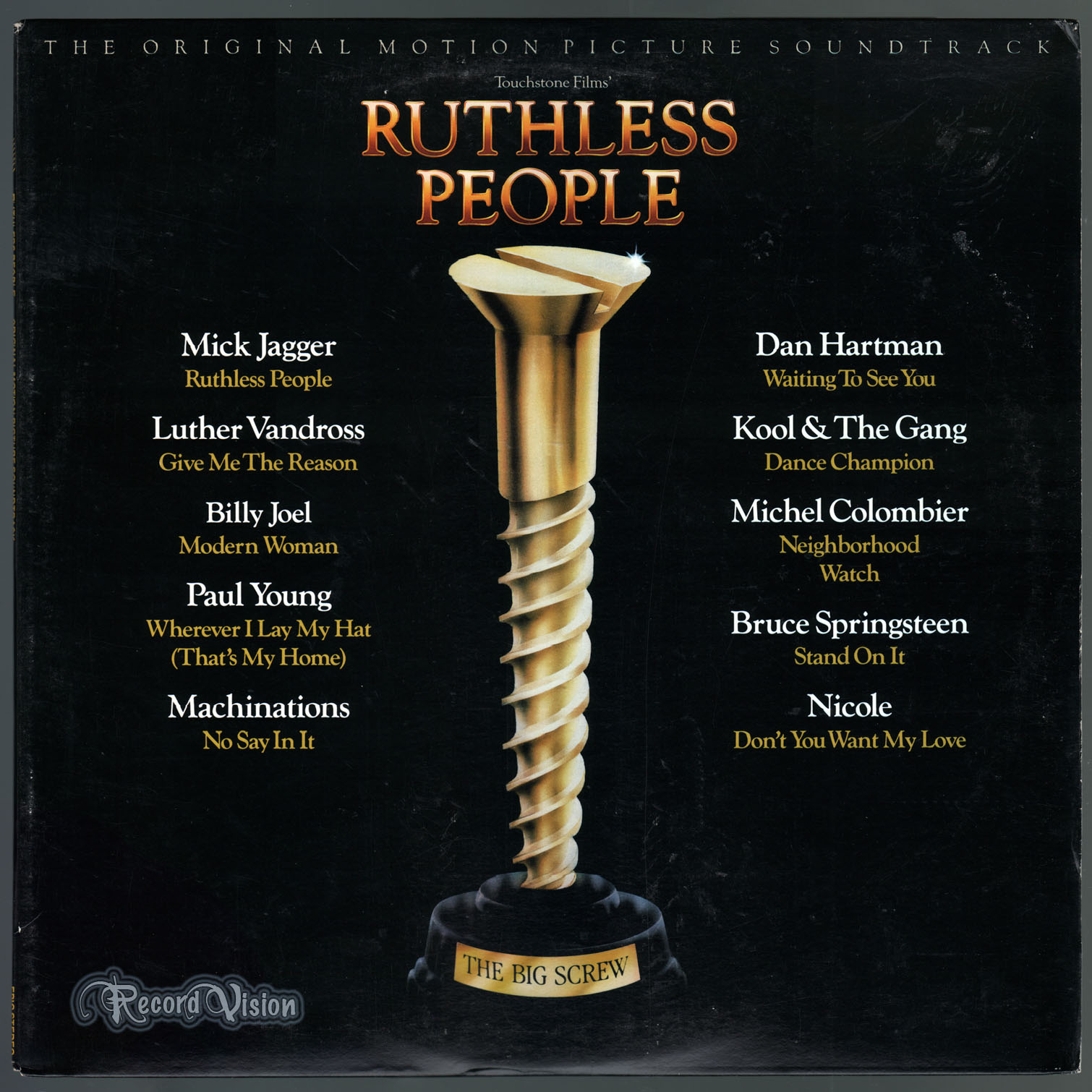 ASSORTED (BRUCE SPRINGSTEEN) - Ruthless People - 33T