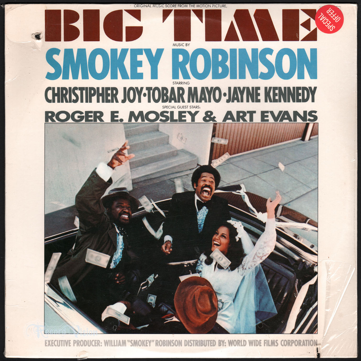 SMOKEY ROBINSON - Big Time - 33T