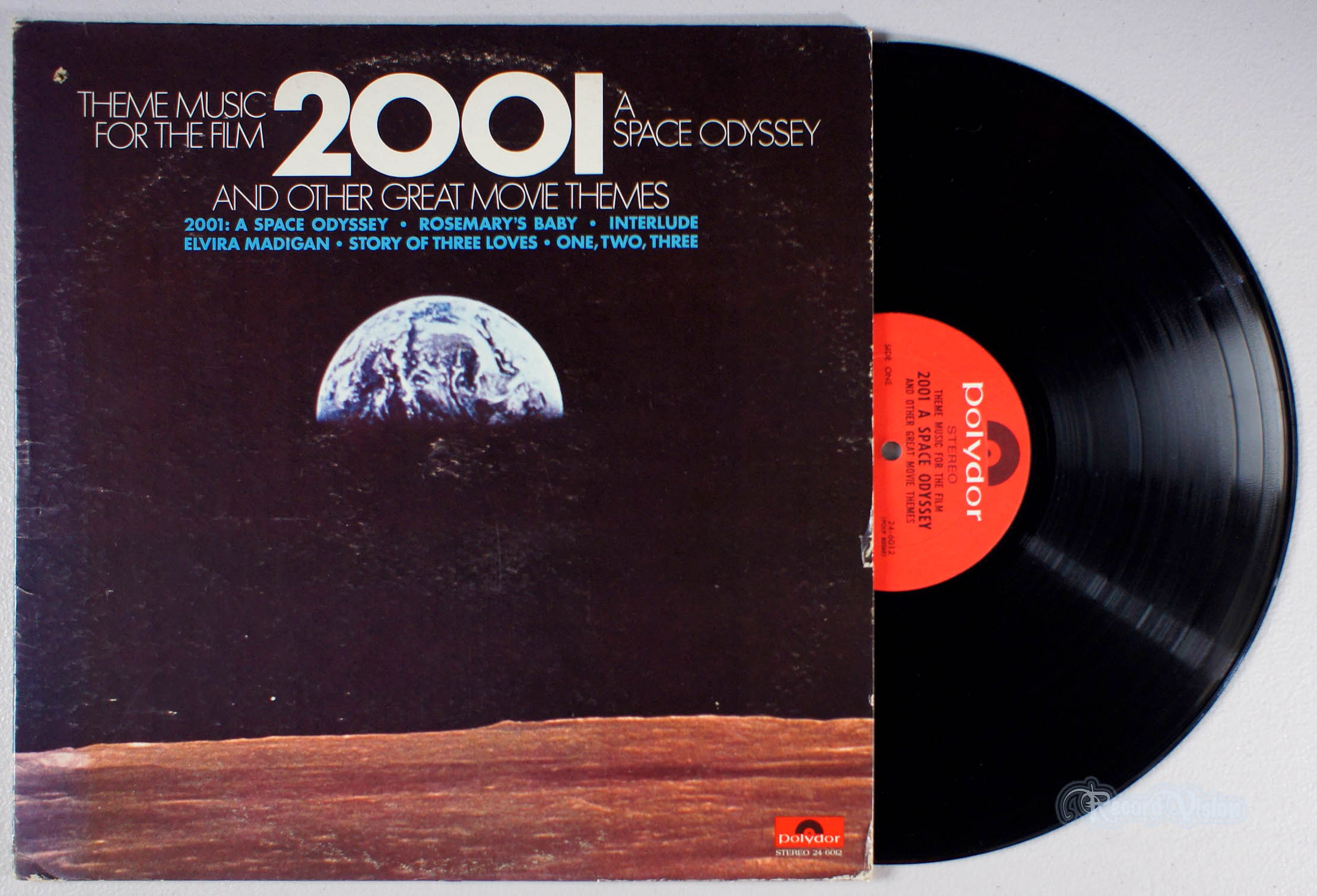 ASSORTED (SOUNDTRACK) - Theme Music for the Film 2001 A Space Odyssey - 33T