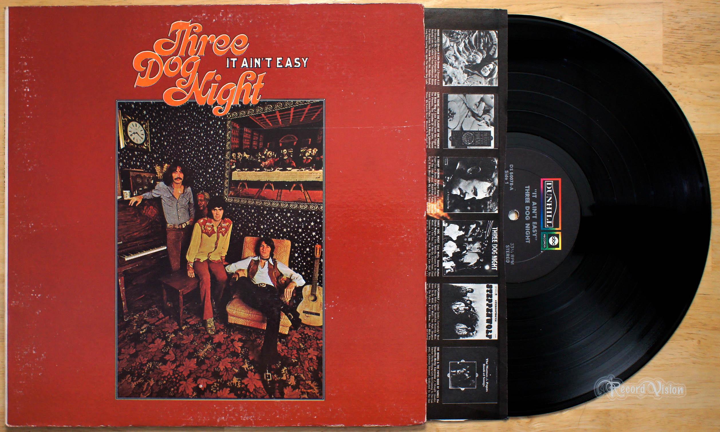 Three Dog Night - It Aint Easy (1970, Gatefold, Vinyl