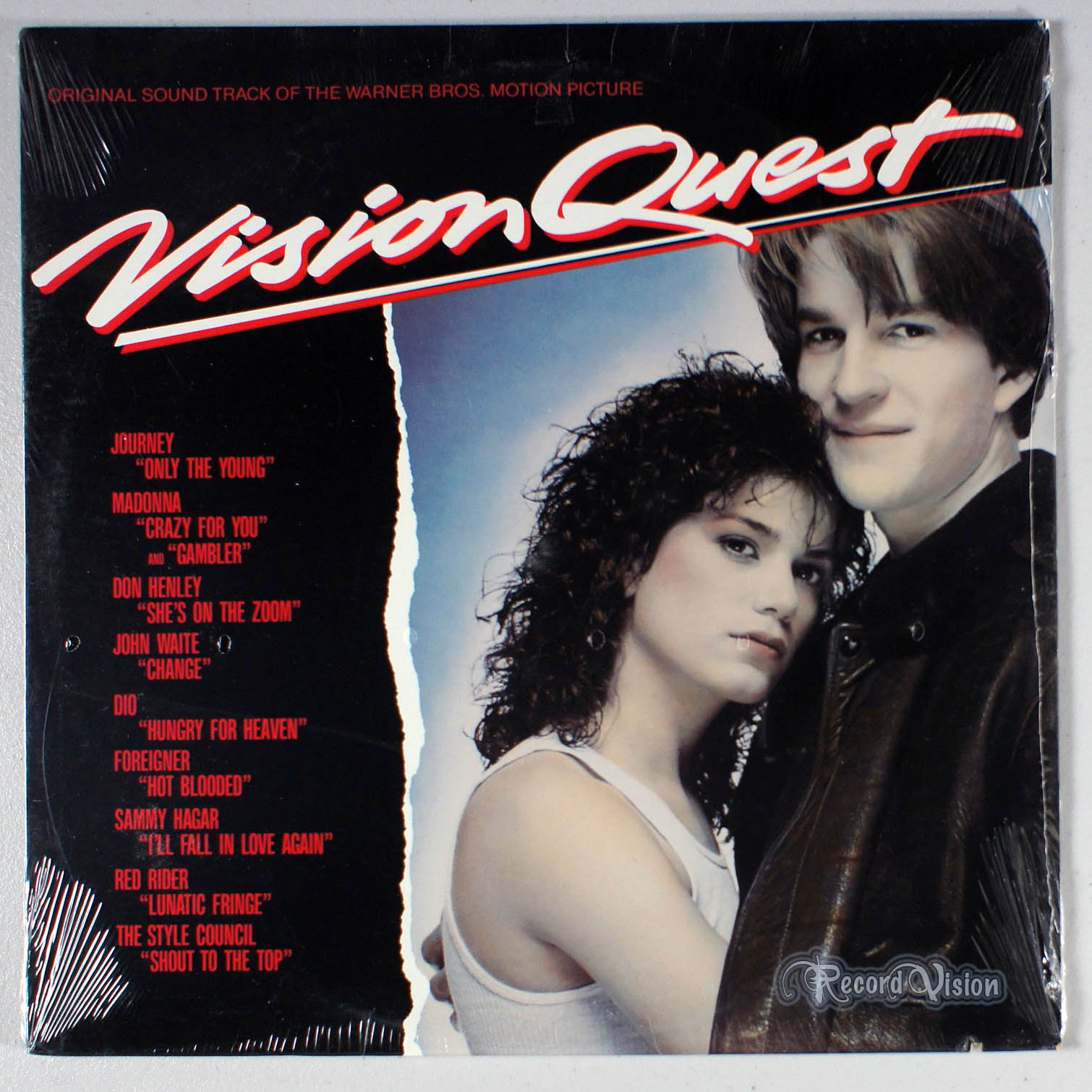 ASSORTED (MADONNA) - Vision Quest - LP